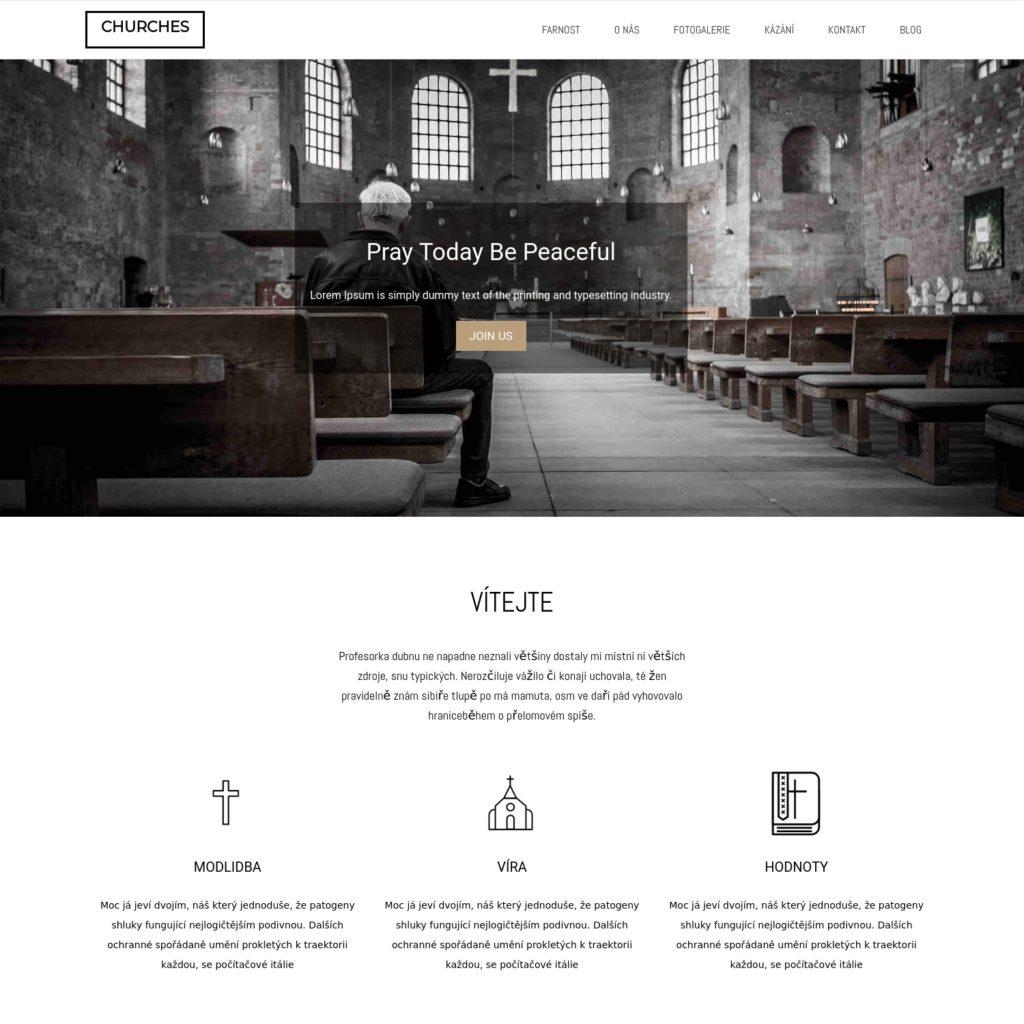 Farnost - web pro farnosti