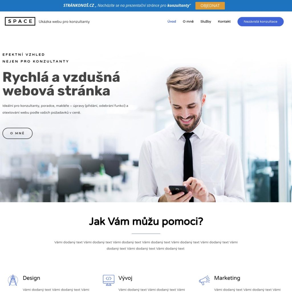 Konzultant - web pro konzultanty