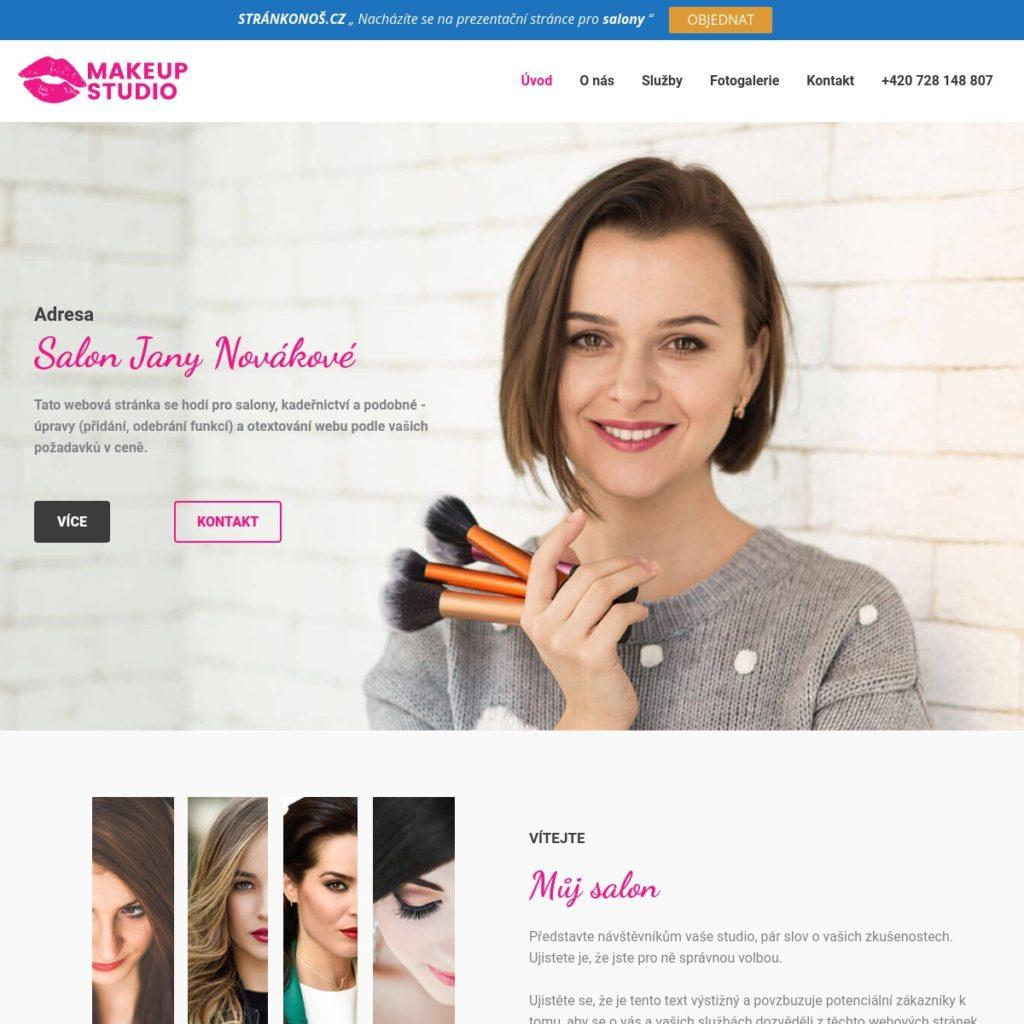 Salon - web pro salony