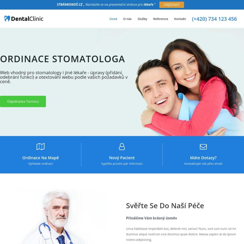 Stomatolog - web pro lékaře