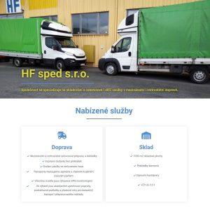 HFsped - doprava a skladování (CZ/EN/DE)