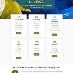 ecoservis.eu - likvidace odpadů