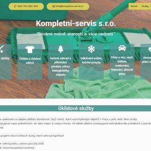 Kompletní-servis s.r.o. - úklidové služby