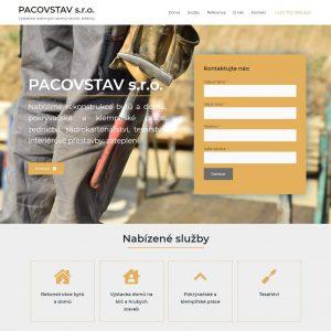 PACOVSTAV s.r.o. - stavební firma