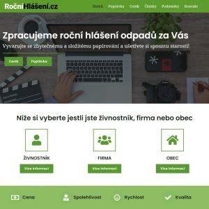 rocnihlaseni.cz - zpracování odpadů
