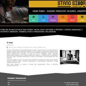 Stano Šimor - česko-belgický hudební producent