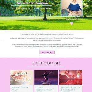 veronika.vision - web mentorky s e-shopem